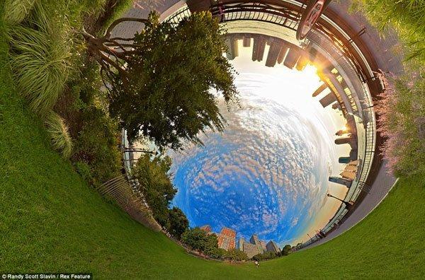 ảnh quay flycam 360 độ