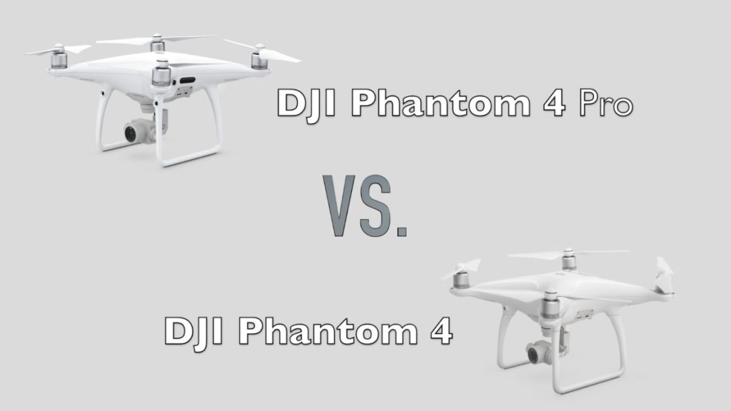 so sánh phantom 4 và phantom 4 pro