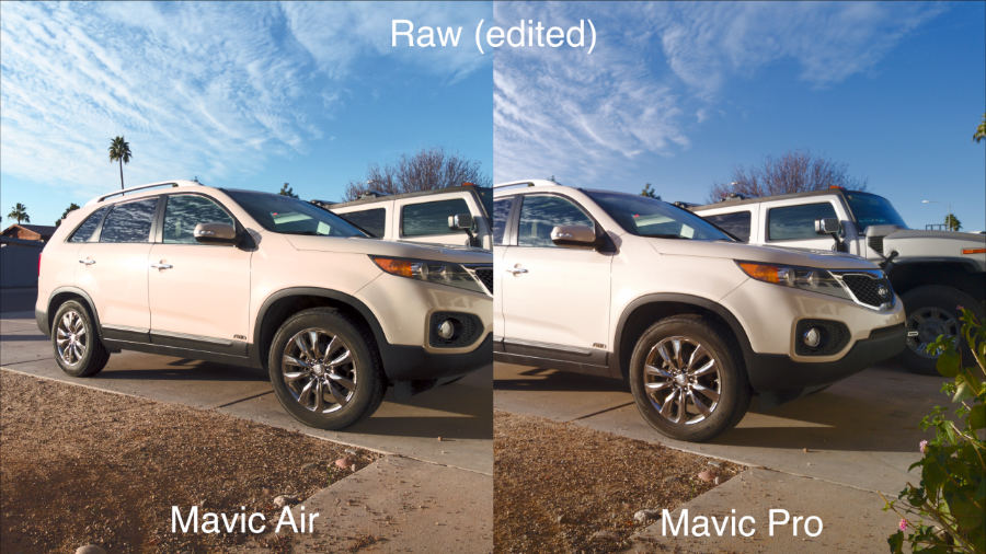 so sánh Mavic Air vs Mavic Pro