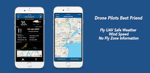Drone Buddy – Fly UAV Safe Weather, Wind, No Fly Zone